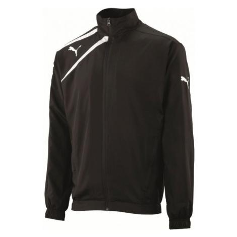 Puma SPIRIT WOVEN JACKET JR black - Children's sports jacket