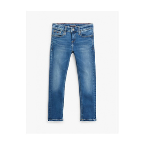 Tommy Hilfiger Boys' Scanton Slim Fit Jeans, Blue