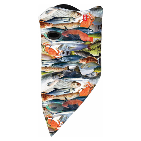 mask Airhole Facemask 2 Layer - Fish