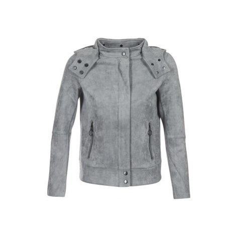 Bench ALCANTARA BIKER JKT women's Jacket in Grey
