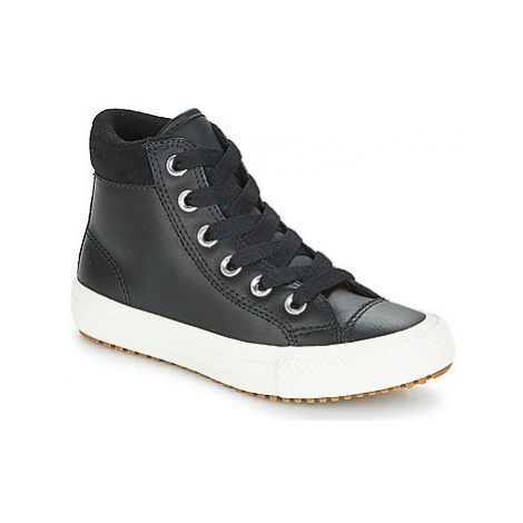 Converse CHUCK TAYLOR ALL STAR PC BOOT HI girls's Children's Shoes (High-top Trainers) in Black