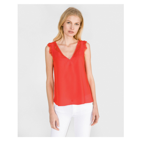 French Connection Chioma Top Red