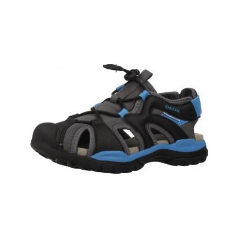 Geox J BOREALIS BOY boys's Children's Sandals in Grey