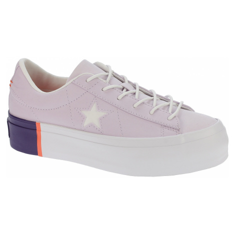 shoes Converse One Star Platform OX - 559902/Barely Grape/Rush Coral/White