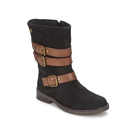 Gioseppo HALIFAX girls's Children's High Boots in Black