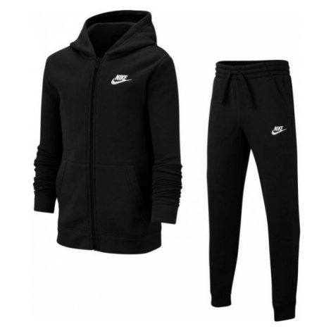 Nike NSW TRK SUIT CORE BF B black - Boys' tracksuit