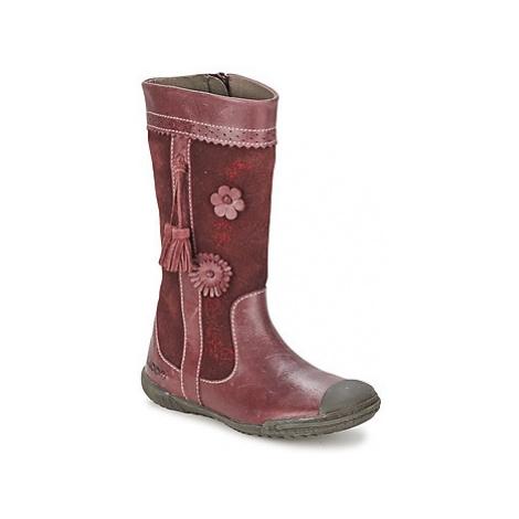 Mod'8 KLAN girls's Children's High Boots in Pink