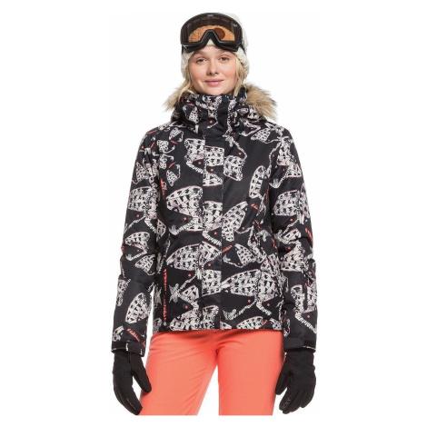 jacket Roxy Jet Ski - KVJ7/True Black Impressions - women´s