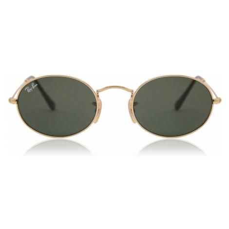 Ray-Ban Sunglasses RB3547N Oval Flat Lenses 001