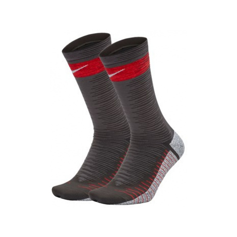 Nike Grip Strike Crew Football Socks - Grey
