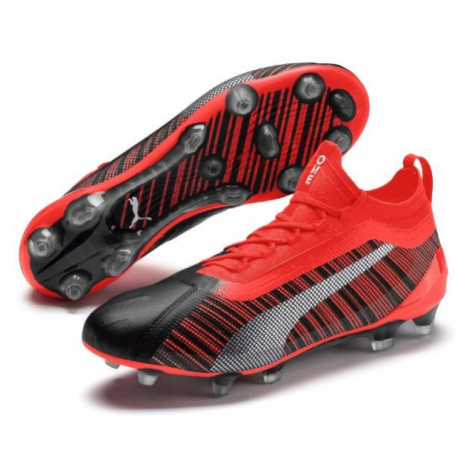 Puma ONE 5.1 FG AG red - Men's football boots