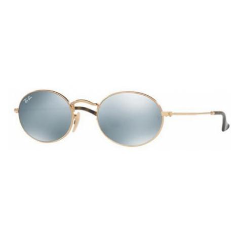 Ray-Ban Sunglasses RB3547N Oval Flat Lenses 001/30