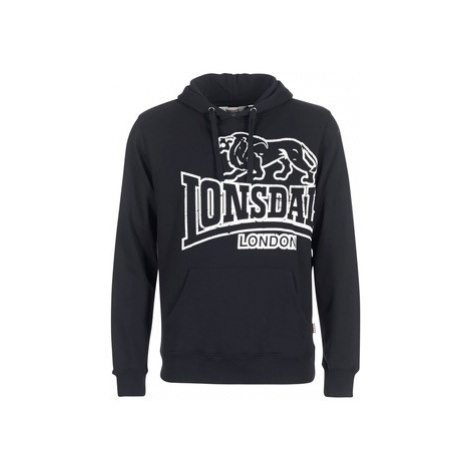Lonsdale TADLEY men's Sweatshirt in Black