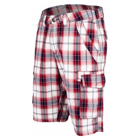 Willard RUDA red - Men's canvas shorts