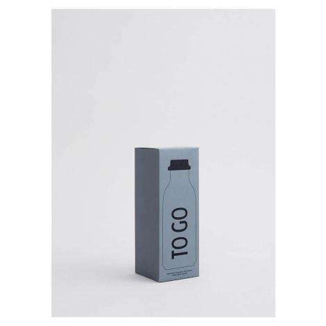 Design Letters To Go Water Bottle - Grey