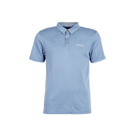 Columbia NELSON POINT POLO men's Polo shirt in Blue