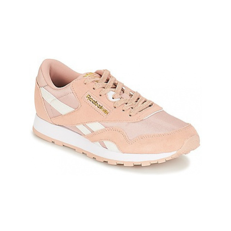 Reebok Classic CLASSIC NYLON J girls's Children's Shoes (Trainers) in Pink
