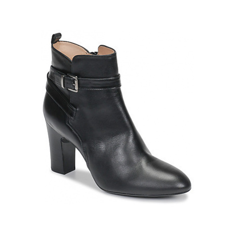 Unisa UMBRIA women's Low Ankle Boots in Black
