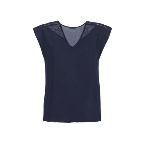 Ikks BN11095-49 women's Blouse in Blue