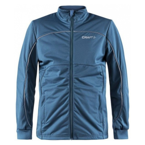 Craft WARM JNR blue - Kids' insulated jacket