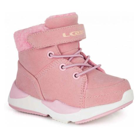 Loap JIMMA pink - Kids' winter shoes