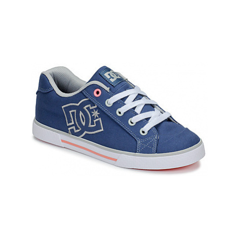DC Shoes CHELSEA TX J SHOE BGC women's Shoes (Trainers) in Blue