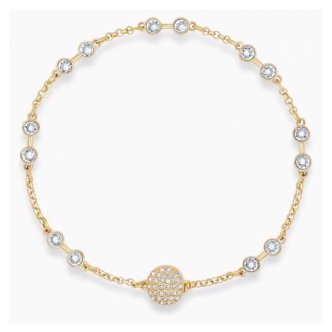 Swarovski Remix Collection Carrier, White, Gold-tone plated