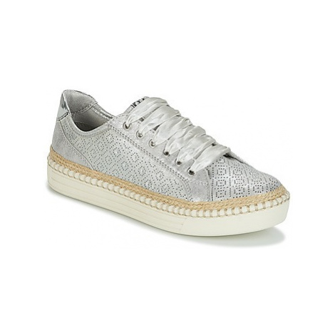 Marco Tozzi BAPER women's Shoes (Trainers) in Silver