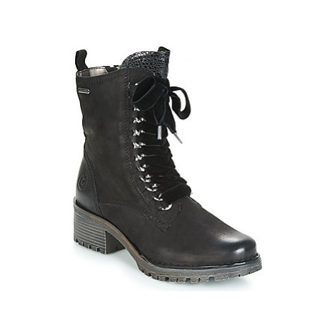 Bugatti RAPUCA women's Low Ankle Boots in Black