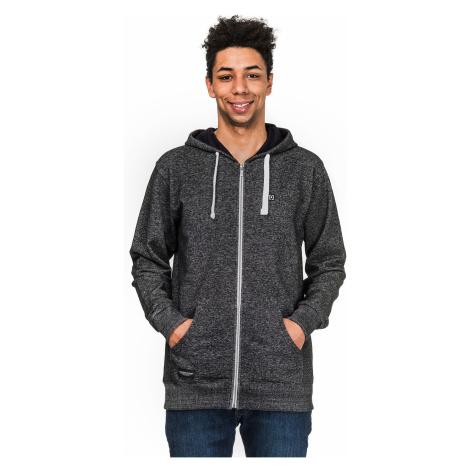 sweatshirt Horsefeathers Proctor Zip - Black Melange