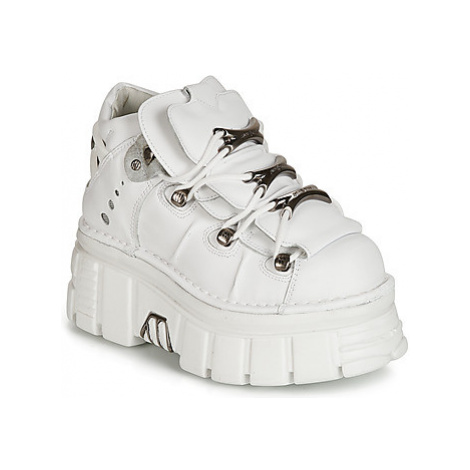New Rock ROCKY women's Mid Boots in White