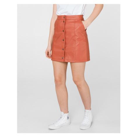 Vero Moda Conner Ray Skirt Red Orange