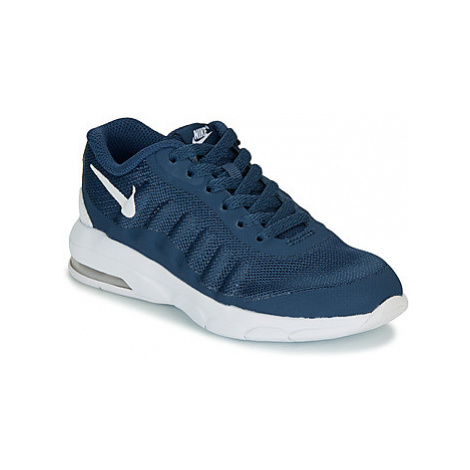 Nike AIR MAX INVIGOR PRE-SCHOOL girls's Children's Shoes (Trainers) in Blue