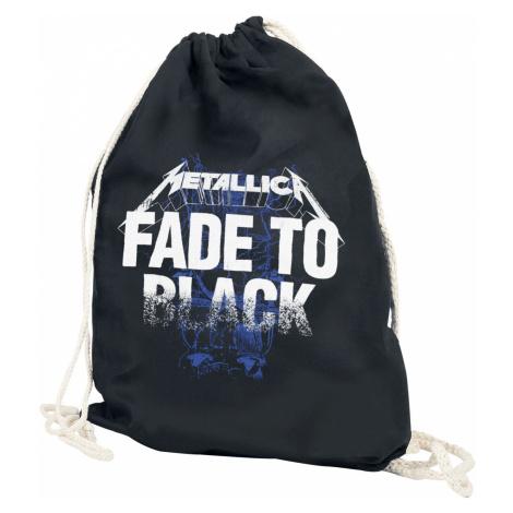 Metallica Fade to Black Gym Bag black