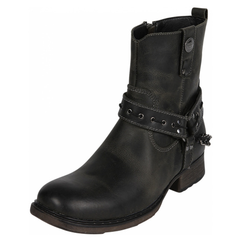 Rock Rebel by EMP - Thunder Road - Boots - black