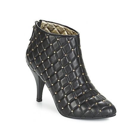 Lola Ramona STILETTO women's Low Ankle Boots in Black