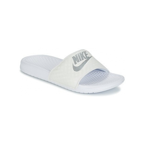 Nike BENASSI JUST DO IT W women's in White