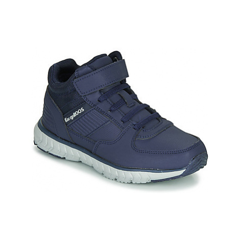Kangaroos CASPO JR boys's Children's Shoes (High-top Trainers) in Blue