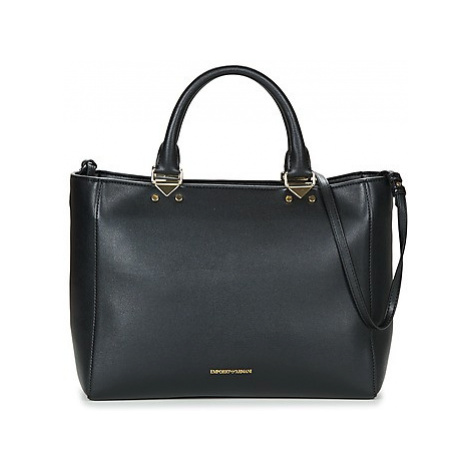 Emporio Armani NELLIE SHOPPING women's Shoulder Bag in Black