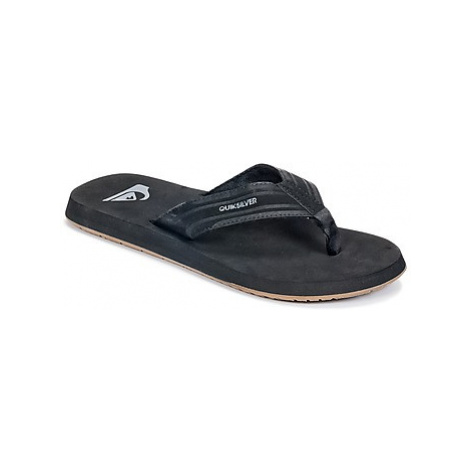 Quiksilver MONKEY WRENCH M SNDL XKKC men's Flip flops / Sandals (Shoes) in Black