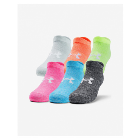 Under Armour Essential Socks 6 pairs Colorful