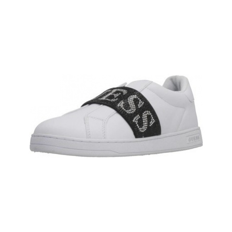 Guess FL8COR LEA12 women's Shoes (Trainers) in White