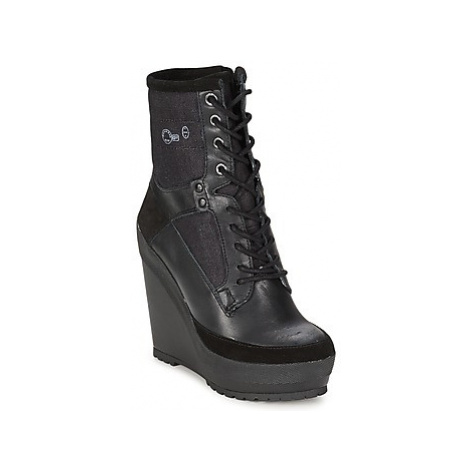G-Star Raw ROMERO MARKER WEDGE II women's Low Ankle Boots in Black