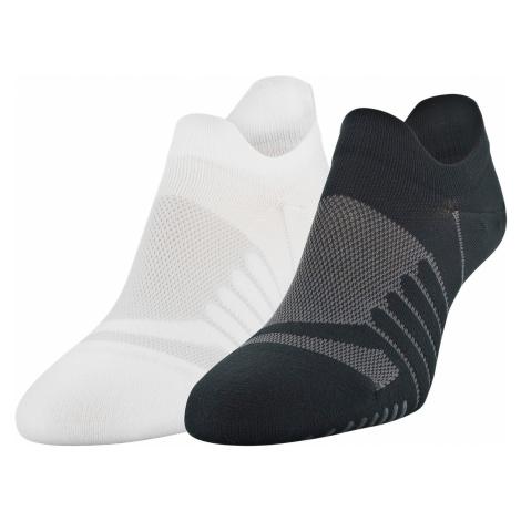 Under Armour Pinnacle Lo Lo Set of 2 pairs of socks Black White