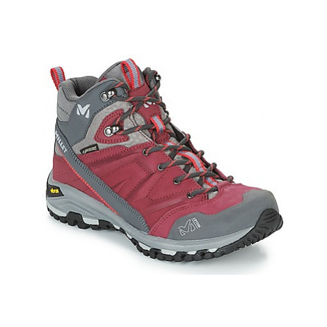 Millet HIKE UP MID LD GORETEX women's Shoes (High-top Trainers) in Pink