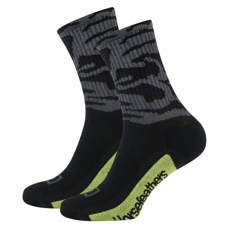 socks Horsefeathers Blot - Black - men´s