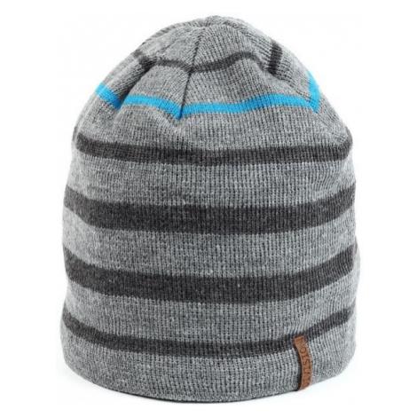 Finmark WINTER HAT grey - Men's hat