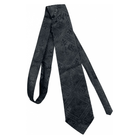 Gothicana by EMP Wearing A Tie Tie black