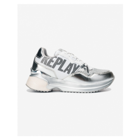 Replay Ingles Sneakers White Silver