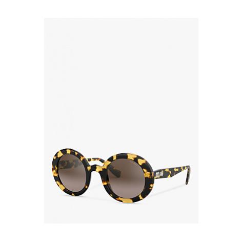 Miu Miu MU 06US Women's Round Sunglasses
